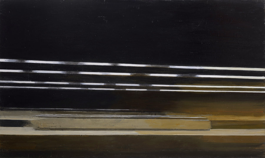 Horizontal motion. 2012, oil on canvas, 90x150