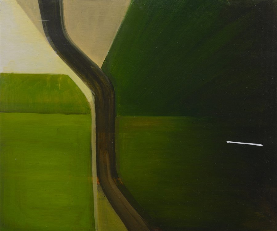 Eurostar. 2012, oil on panel, 50x60. Private collection