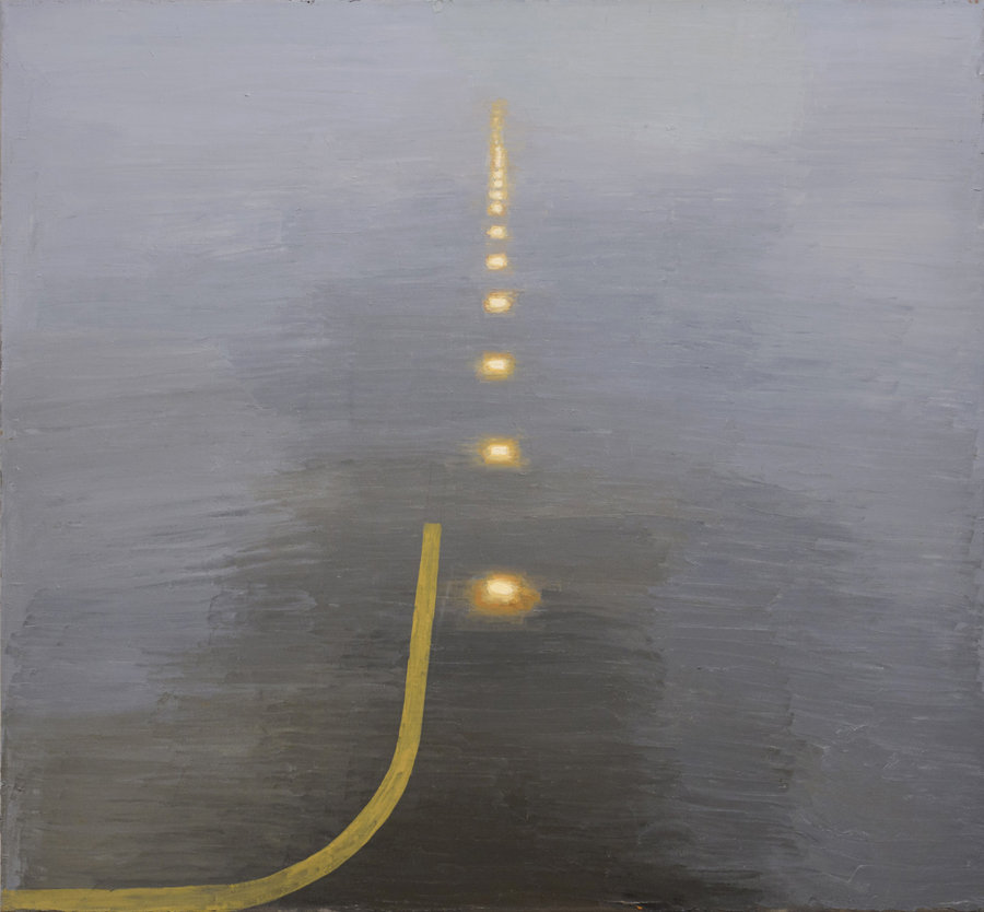 Up. 2012, oil on canvas, 103x112. Private collection, USA
