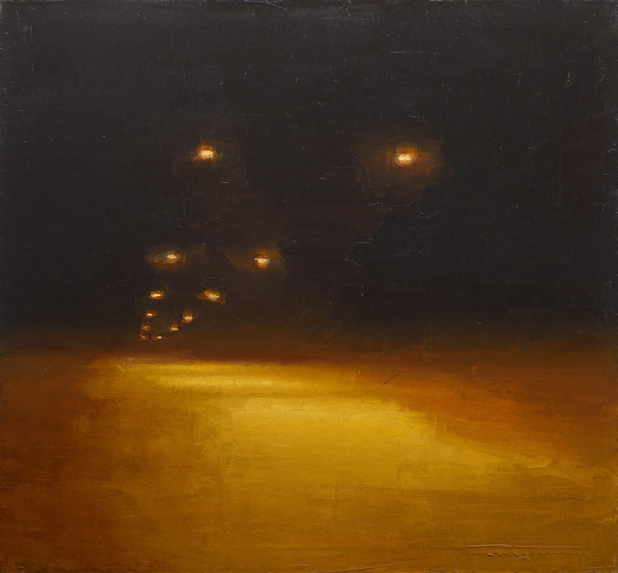 Nightlight. 2012, oil on canvas, 103x112