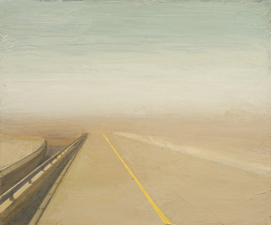 Highway. 2011, oil on panel, 50x60