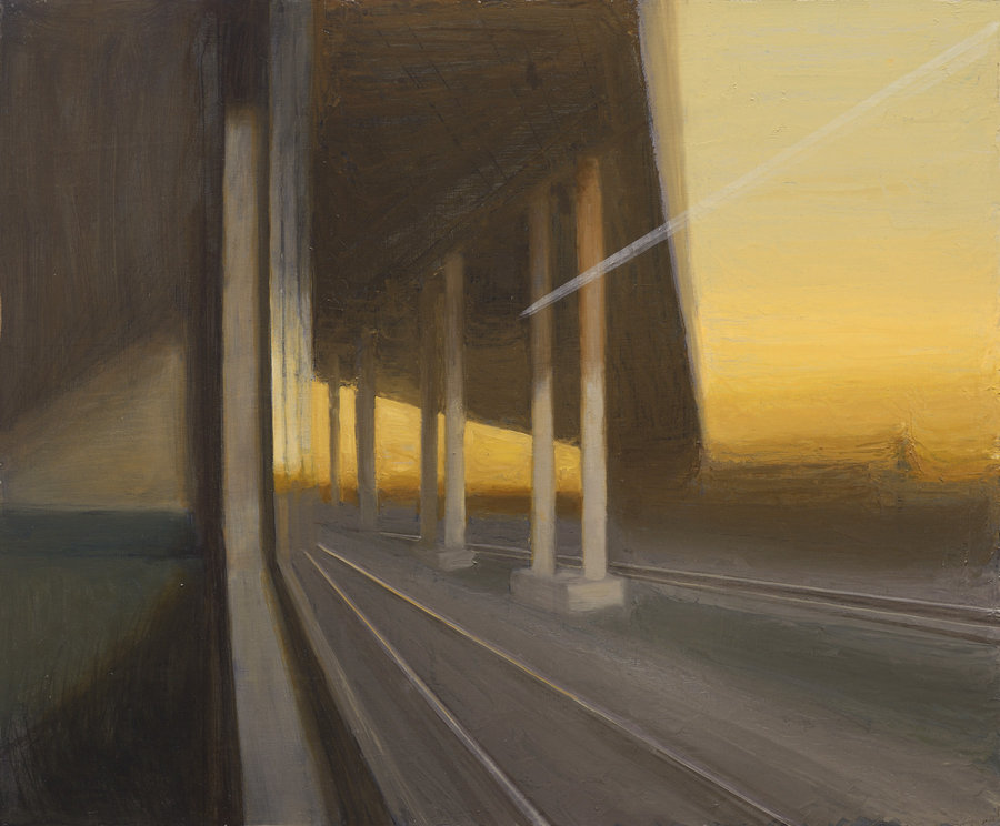 Overpass. 2011, oil on panel, 50x60 Private collection