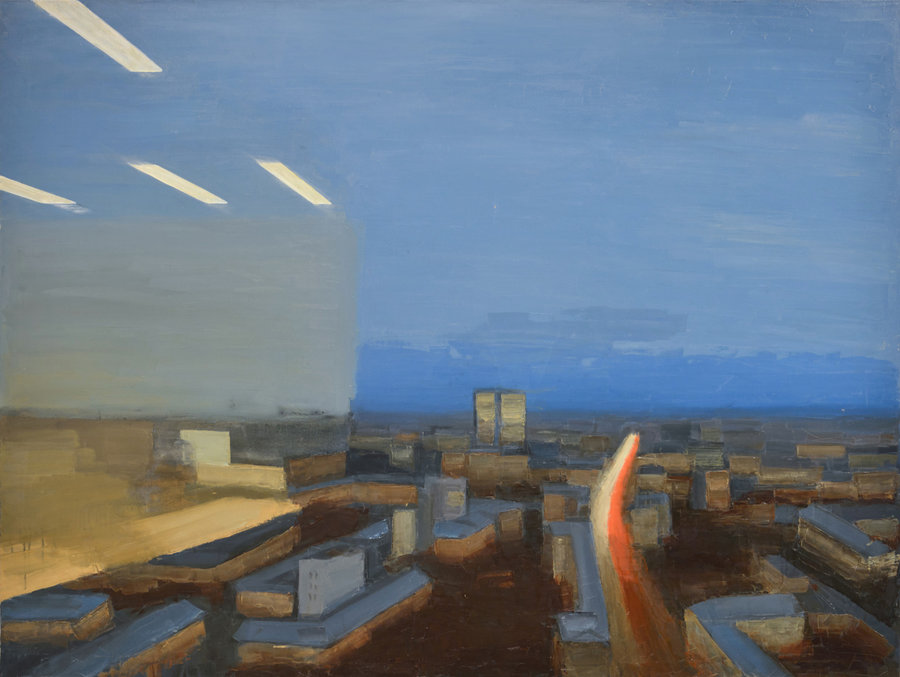 Office. 2013, oil on canvas, 150x200