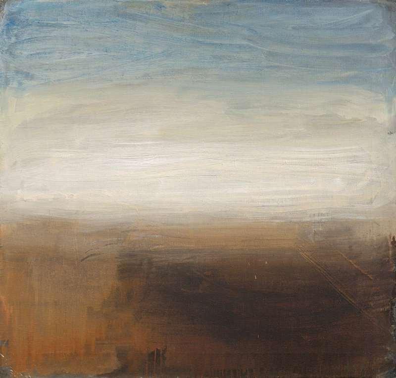 Landscape No.3. 103x108; oil on canvas; 2009
