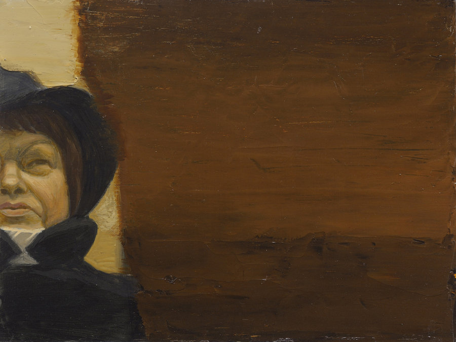 Portrait of Unknown 5. 2011, oil on panel, 30x40