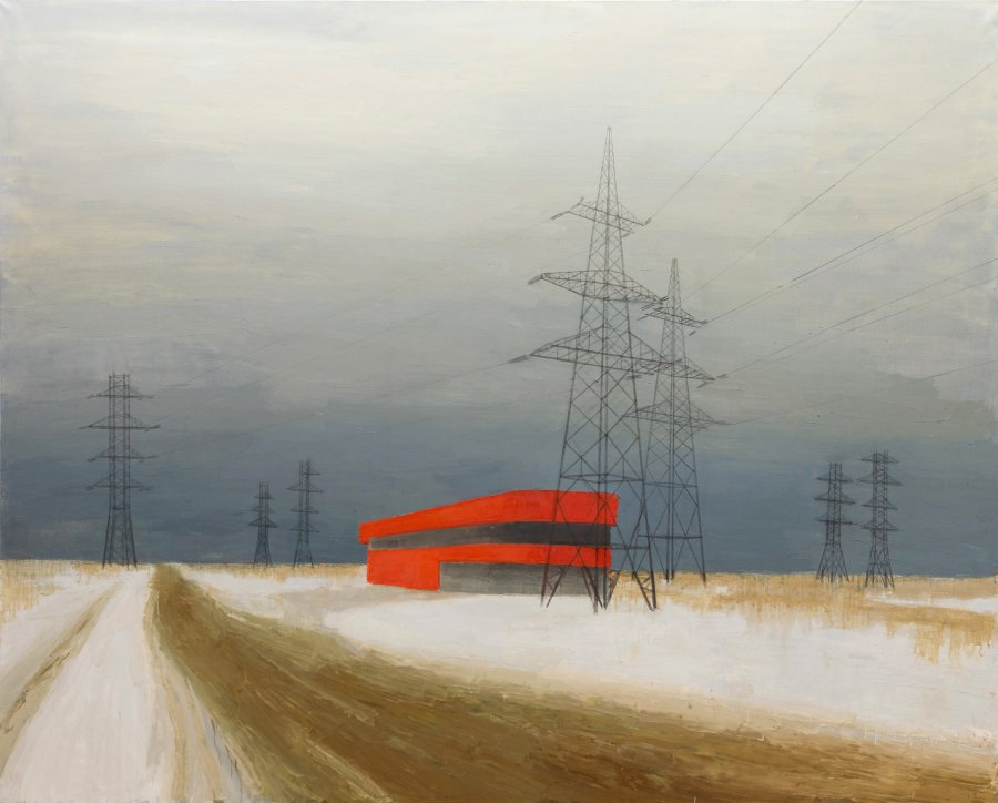 Service Station. 2013 oil on canvas 200x250. Aksenov Family Foundation