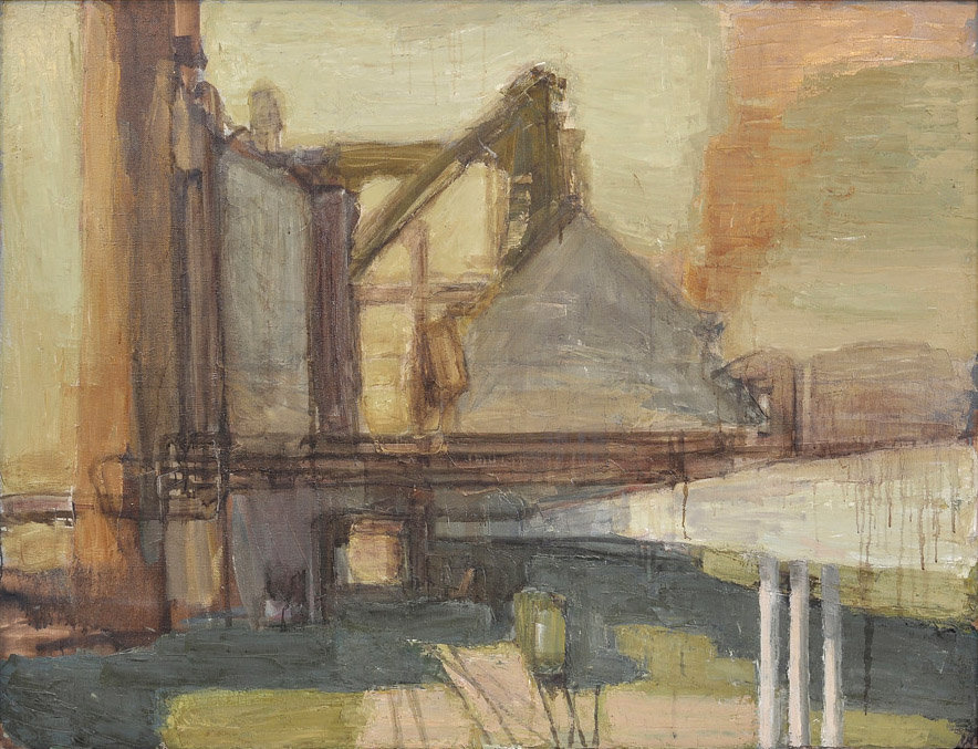 The Blast Furnace. Noon. 130x170; oil on canvas; 2008